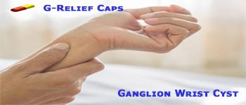 Ganglion SURGERY Alternative G-Relief Caps. INFO g-relief.com