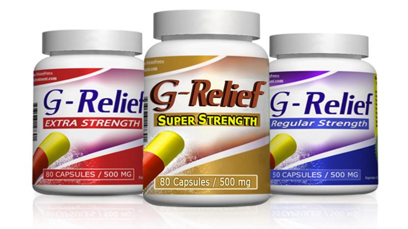 G-Relief Caps NATURAL Alternative to Ganglion SURGERY. INFO: g-relief.com
